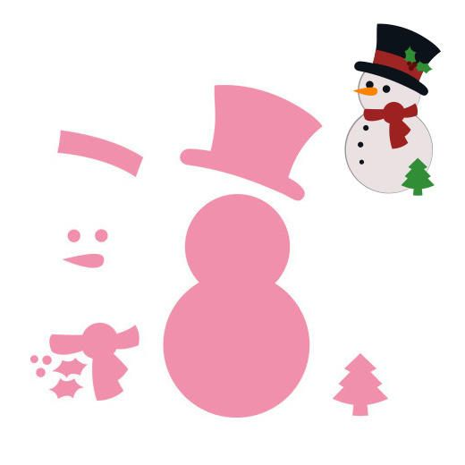Marianne Design Collectables Dies - Snowman COL1332