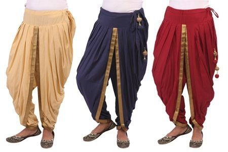 Shop Online Dhoti Pants For Women – Available in 4 Colors @ Rs 499