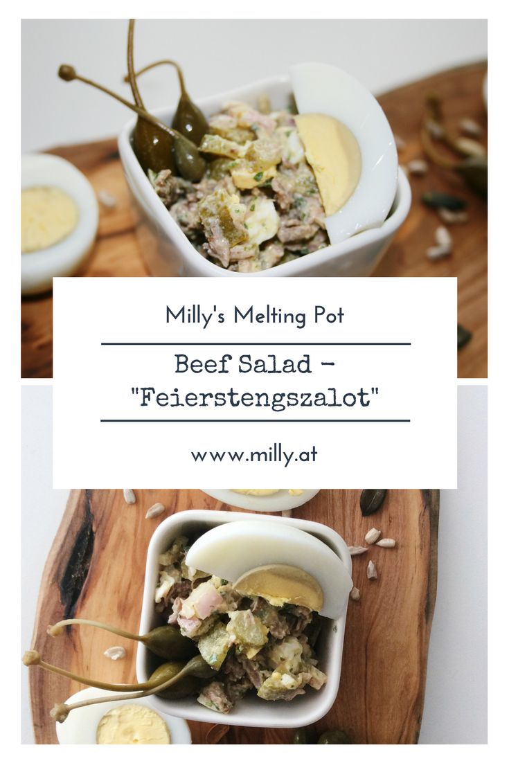 "I have had cold beef dishes, but nothing compares to the ""Feierstengszalot"" and how it combines so many different flavours in a very special way. #recipe #meat #luxembourg"