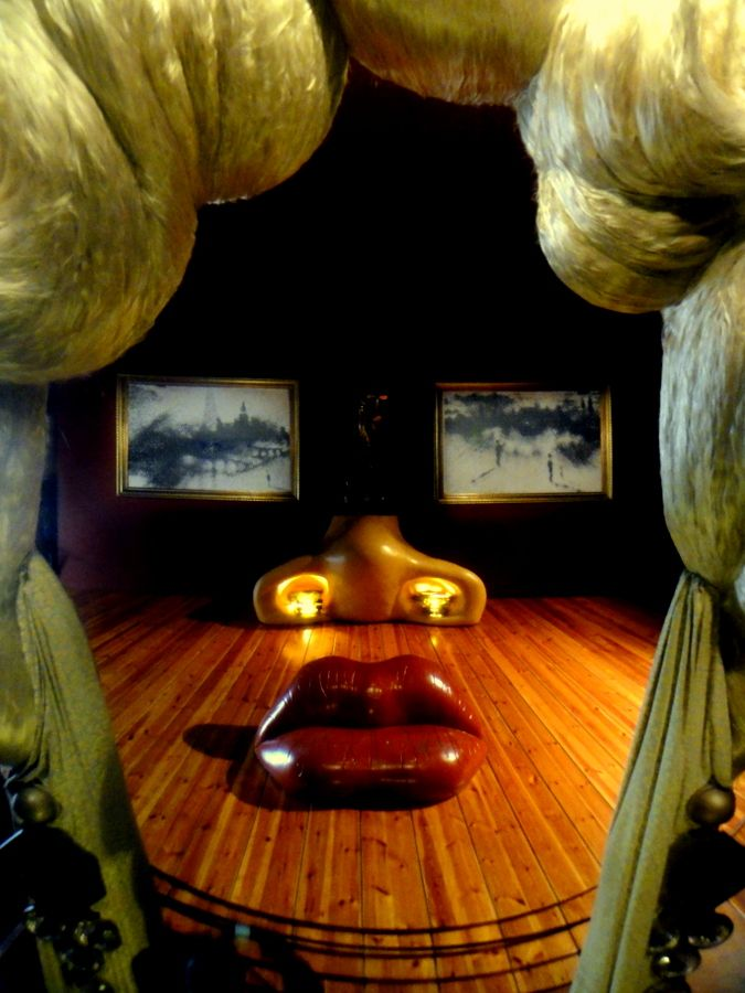 "The ""Mae West"" display at the Dali Theatre-Museum by Salvador Dali in Figueres, Girona."