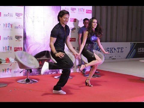 Local Singles Shraddha Kapoor and Tiger Shroff Dancing together in Delhi...