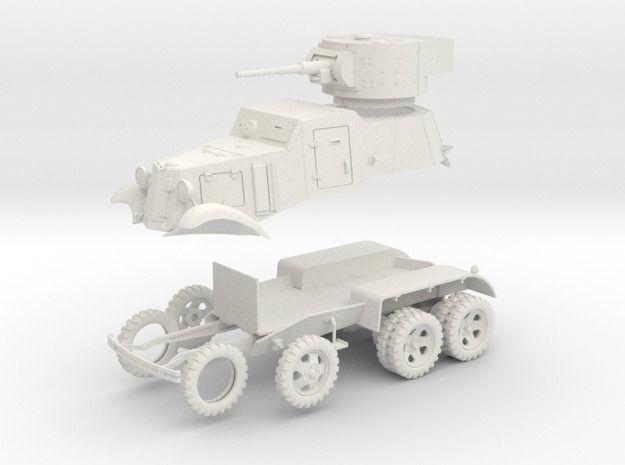 Soviet armored car BA-6 28mm 1:48 scale