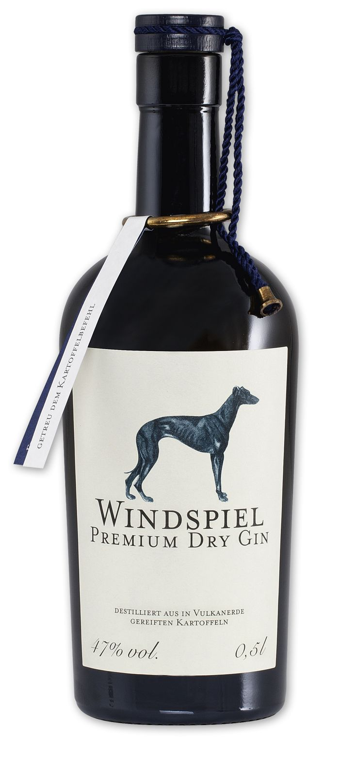 Windspiel Premium Dry Gin | #packaging #bottledesign #gin