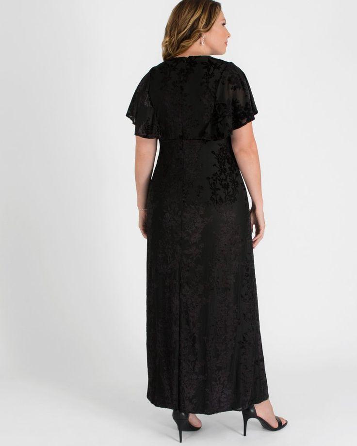Kiyonna Womens Plus Size Parisian Dream Evening Gown 13