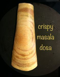 Crisp Dosa without rice!!! Made with healthy, protein rich lentils and no fermentation!!! Got to try this!