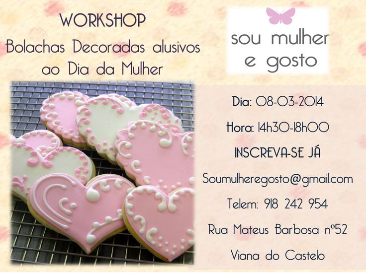 Workshop Culinária- Bolachas Decoradas