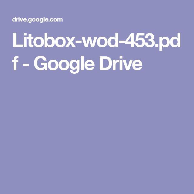 Litobox-wod-453.pdf - GoogleDrive