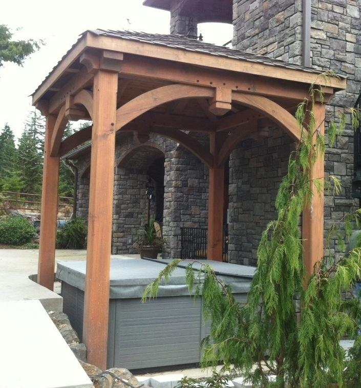 Timber Outdoor Living: 81 Best Timber Frame Gazebos, Pavilions & Pergolas Images
