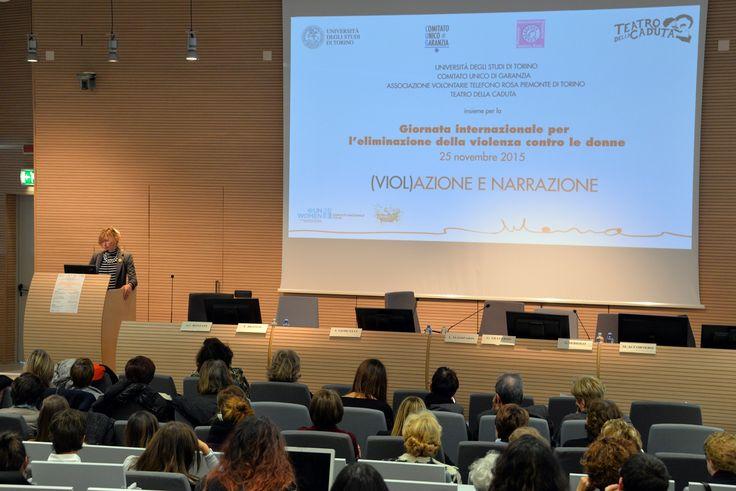 Convegno (Viol)azione e narrazione - 25 novembre 2015 02 - prof.ssa Giorcelli, Presidente CUG