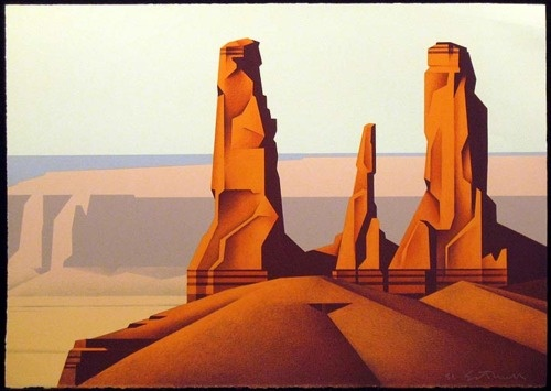 Three Sisters by Ed Mell