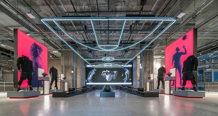 Adidas NYC by Adidas with Checkland Kindleysides and Gensler, shortlisted in the Retail category.