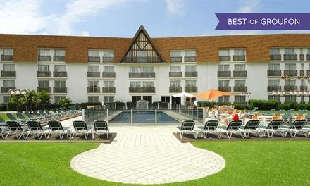 Amirauté Hôtel à Deauville : 1 à 3 nuit(s) avec jacuzzi et accès piscine chauffée à Deauville: #DEAUVILLE 79.00€ au lieu de 275.00€ (71% de…