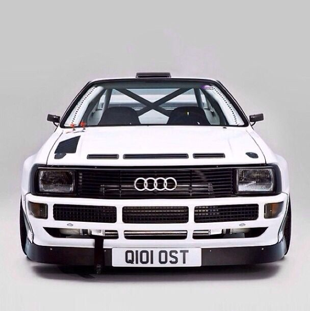 Audi Sport Quattro ,one of the few cars ever to have to have a race made just for them because they were so freakin' bad.