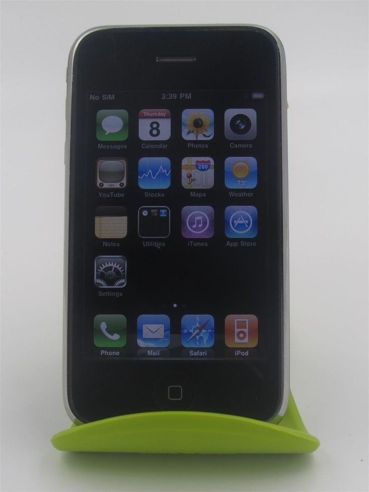 Apple iPhone 3G a1241 Unlocked Smartphone Black Fair Condition 8gb (fr4892) | eBay