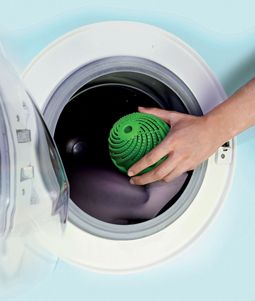 6 Alternatives to Dryer Sheets - use steam balls in the dryer, vinegar in the washer, a small cloth saturated with natural hair conditioner....; avoid toxic benzyll acetate, formaldehyde, etc. in dryer sheets.
