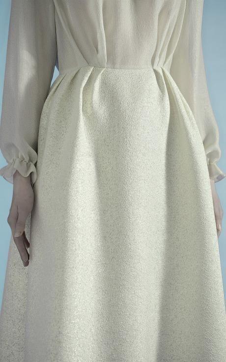 Flouncy Sparkle Dress by Vika Gazinskaya for Preorder on Moda Operandi
