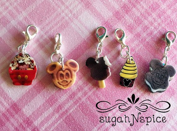 If you haven't guessed by now, I'm totally obsessed with Disney snacks and Mickey foods. So obviously I had mini squeal attack when I saw these totally adorable and scrumptious looking Disney Snack Jewelry Charmsby SugahNSpice on Etsy! These tiny little trinkets resemble different Disney inspired snacks, with lobster clasps. You can use them for …