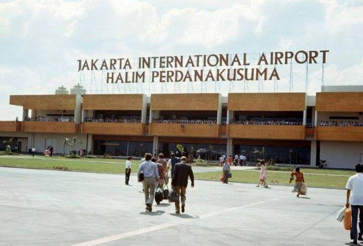 Bandara Halim Perdana Kusuma 1974