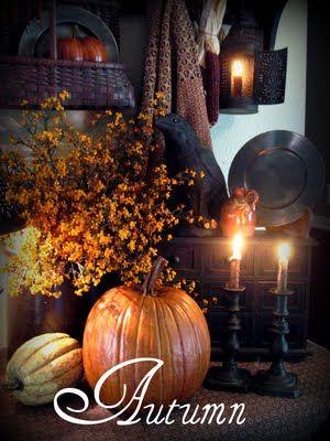 Autumn: Primitive Fall, Primitive Autumn, Favorite Time, Autumn Fall, Autumn Decor, Fall Decorating, Autumn Thanksgiving