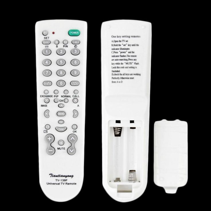 1Pcs Portable Universal TV Remote Control Controller For TV Television Sets Wholesale Dropshipping hot new