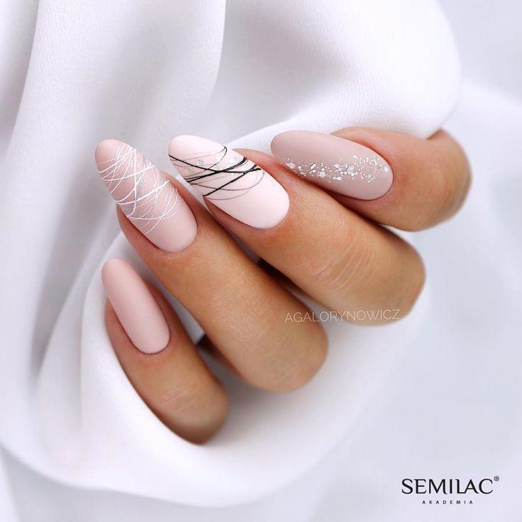 15 colores de uñas elegantes y con forma que te inspirarán a probarlos - Nail Design - Devil - #colores #Design #devil #elegantes #forma #inspiraran #probarlos