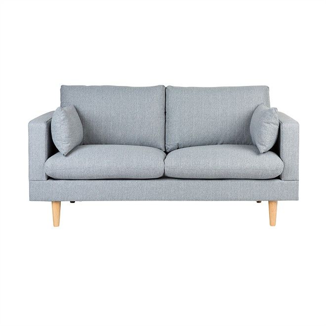 Shop our popular range of sofas and sofa beds. Buy the latest on-trend furniture online and have your order delivered to your door!, sedrick 2-seater sofa - Light Grey