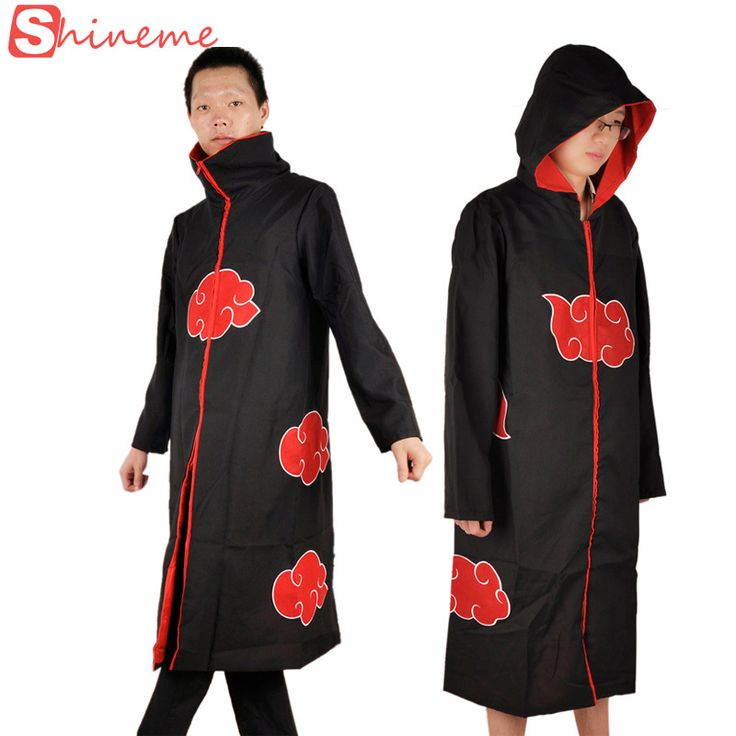 halloween Japanese anime naruto cosplay jacket costumes naruto ninja shirt clothing Akatsuki Uchiha Itachi costume accessories