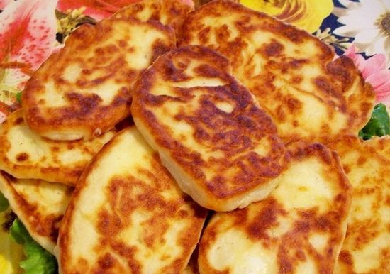 Котлеты из вареного картофеля