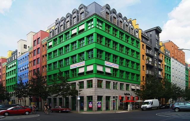 Aldo Rossi - Schützenstraße in Berlin, Germany.