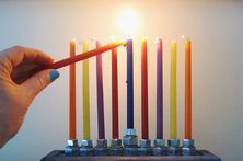 How to Recite the Three Hanukkah Blessings | eHow Growing up we always sang the blessings, not just recited them. Few more days and another Hanukkah celebration will be had. :)