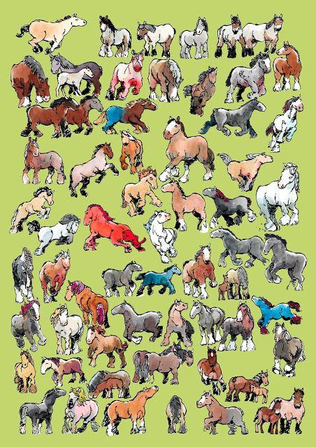 66 Draft Horses Jan Willem Middag