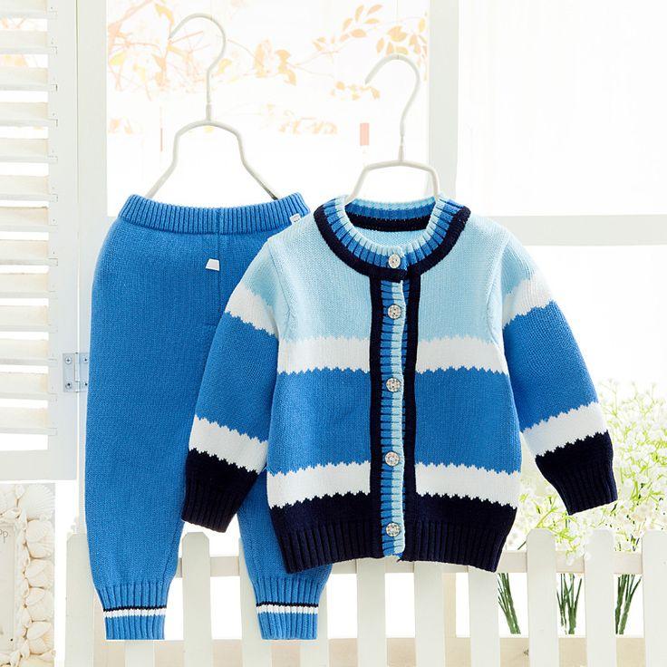 Baby girl roupas de Bebê menino roupas camisolas do bebê Recém nascido Infantil outerwear Bebê camisola Criança cardigan dois peça CC062 em Conjuntos de roupas de Mãe & Kids no AliExpress.com | Alibaba Group