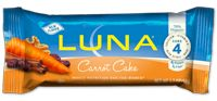 LUNA Bar:Carrot Cake - Holy cow! I can't wait to try this flavor!