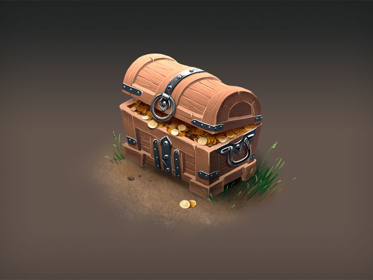 Isometric Treasure Chest