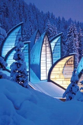 Tschuggen Grand Hotel, Arosa, Switzerland - http://www.pinterest.com/pin/104638391312984112/ -- https://www.kiwicollection.com/hotel-detail/tschuggen-grand-hotel -- http://www.huffingtonpost.com/trivago/10-seriously-sexy-spas-ar_b_4788778.html