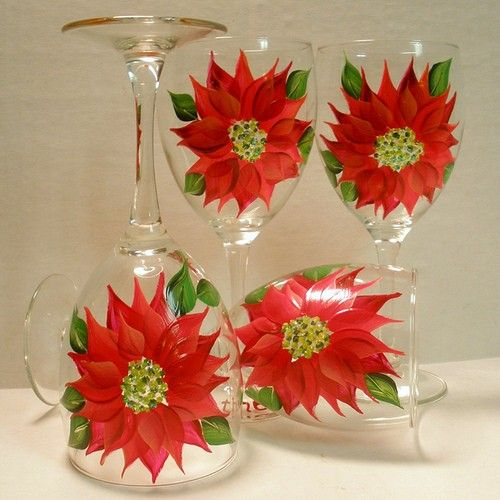 wine glasses - can make these pretty simply :)