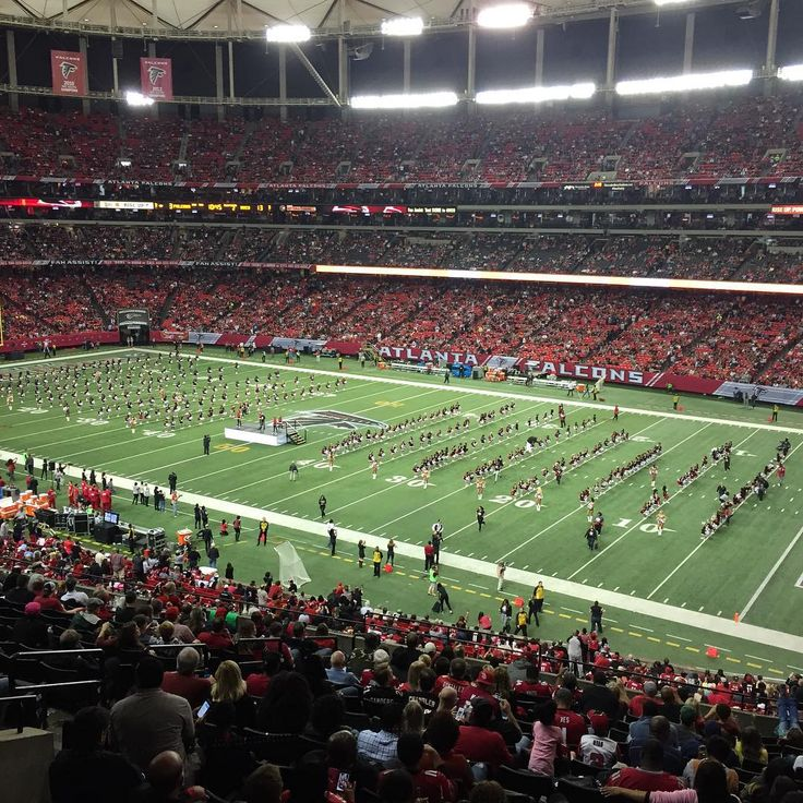 One last post for the night We had a great time at the Georgia Dome #football @atlantafalcons #halftimeperformance #mattybraps