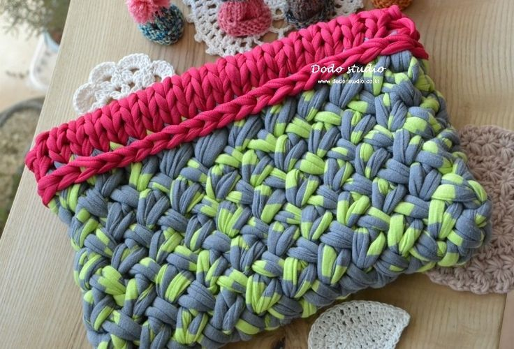 #clutch #knit #fabric_yarn #dodo_studio