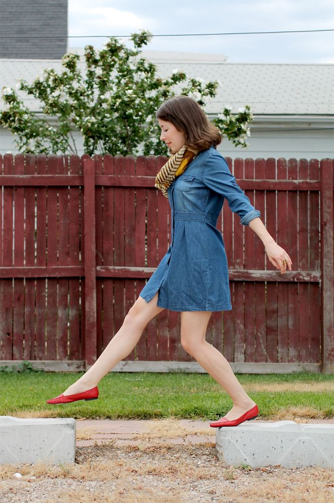 Weekend Outfit: No Labor, Just Love #weekendoutfit #denim #cuteoutfit #laborday