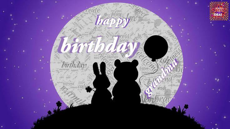 Great Happy Birthday Wishes For Grandma