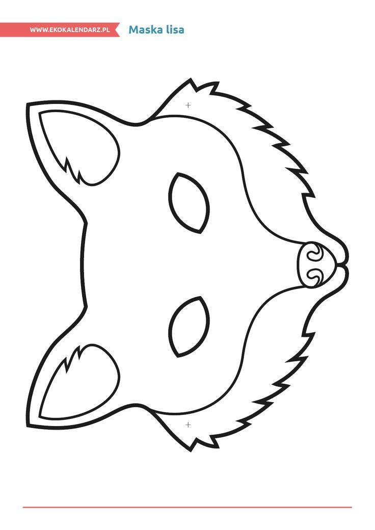 Maska lisa http://www.ekokalendarz.pl/miedzynarodowy-dzien-strazaka-pakiet-edukacyjny/