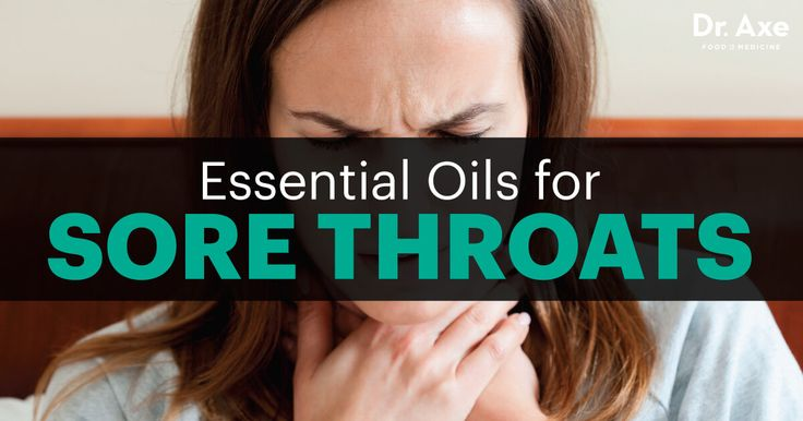 Did you know that essential oils can make a sore throat go away quicker or avoid one all together? Check out these 8 essential oils for sore throat pain.