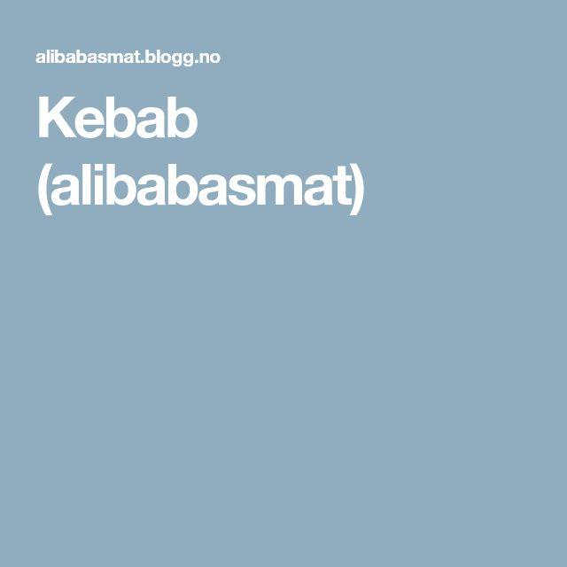 Kebab (alibabasmat)