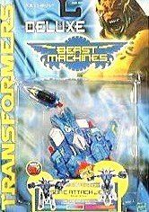 Sonic attack jet drone Transformers Beast Machines 2000