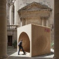 Pavilion for the Festival of Lively Architecture by AtelierVecteur in Montpelier, France