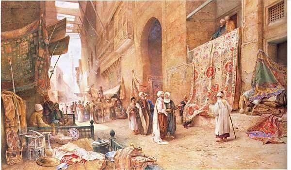 Charles Robertson, A Carpet Sale