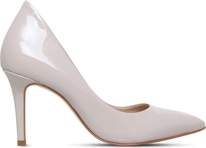 Kg Kurt Geiger Bella patent-leather court shoes