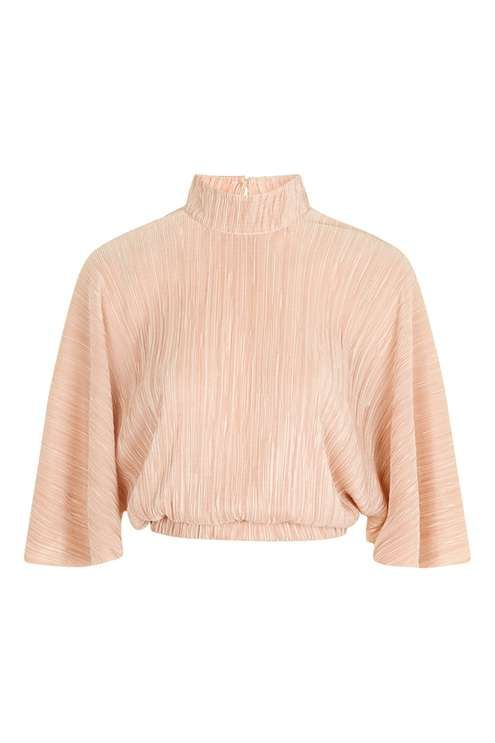 **Pleated Batwing Top by Oh My Love