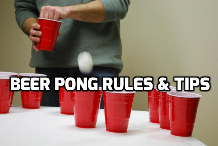 Tips and rules for beer pong beginners! http://beerponglife.com/beer-pong-rules-how-to-play/