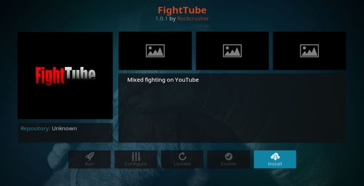 FightTube Kodi Addon – Great Add-on for Combat Sports